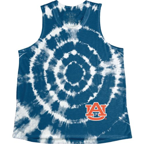 Blue 84 Women's Auburn University Retro Liquid Muscle Tank Top