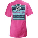 Three Squared Juniors' University of Southern Mississippi Baylee V-neck T-shirt - view number 1