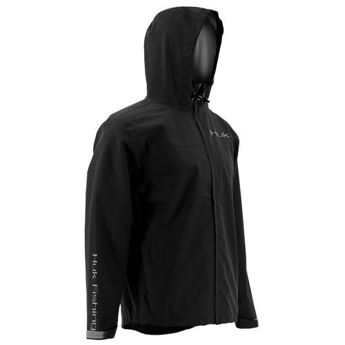Huk Men's Packable Rain Jacket