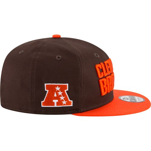 New Era Men's Cleveland Browns 9FIFTY Baycik Snapback Cap - view number 5