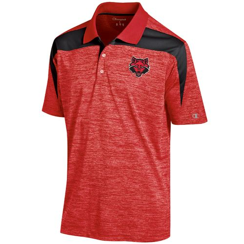Champion™ Men's Arkansas State University Synthetic Colorblock Polo Shirt