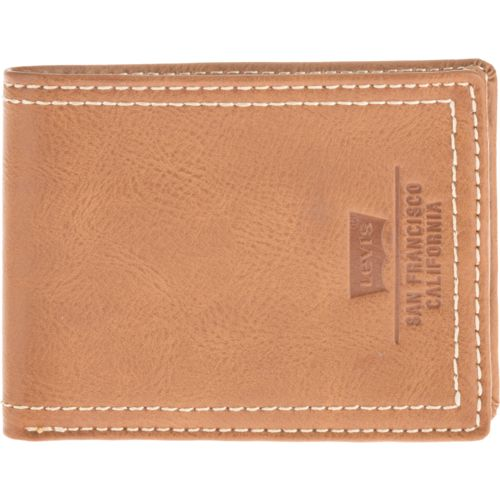 Levi's Men's Extra-Capacity Slim-Fold Wallet