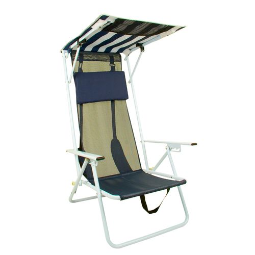 Quik Shade Adjustable Shade Canopy Folding Beach Chair