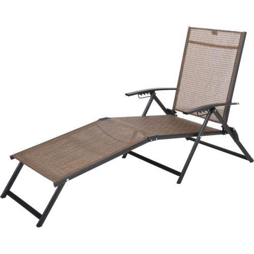 Display product reviews for Mosaic Folding Sling Chaise Lounge