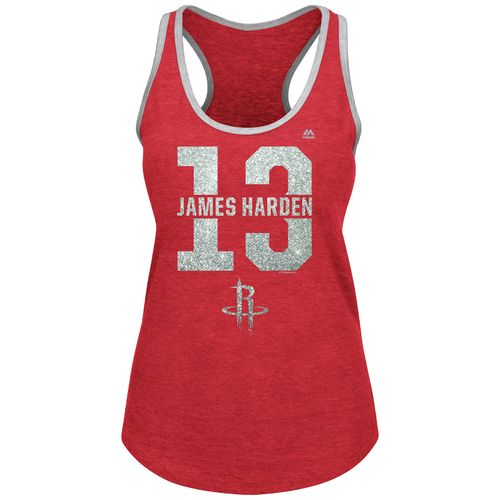 Majestic Women's Houston Rockets James Harden 13 Bringing Out the Best Tank Top