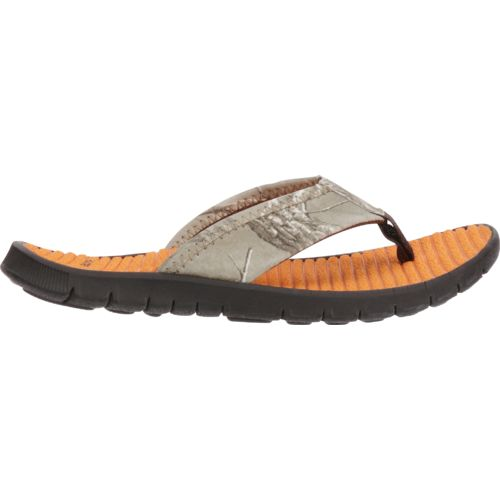 O'Rageous Boys' Realtree Thong Sandals
