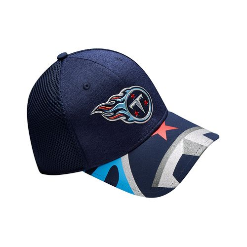 New Era Men's Tennessee Titans 39THIRTY NFL17 On Stage Cap - view number 8