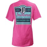 Three Squared Juniors' Indiana University Baylee V-neck T-shirt - view number 1