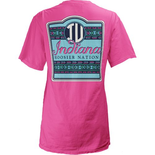Three Squared Juniors' Indiana University Baylee V-neck T-shirt
