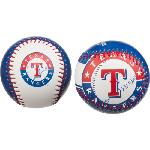 Rawlings Texas Rangers Double Play Soft-Core Baseballs 2-Pack