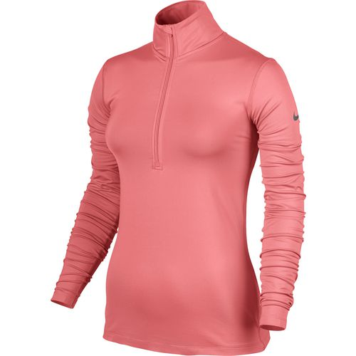 Nike Women's Pro Warm 1/2 Zip Long Sleeve Top