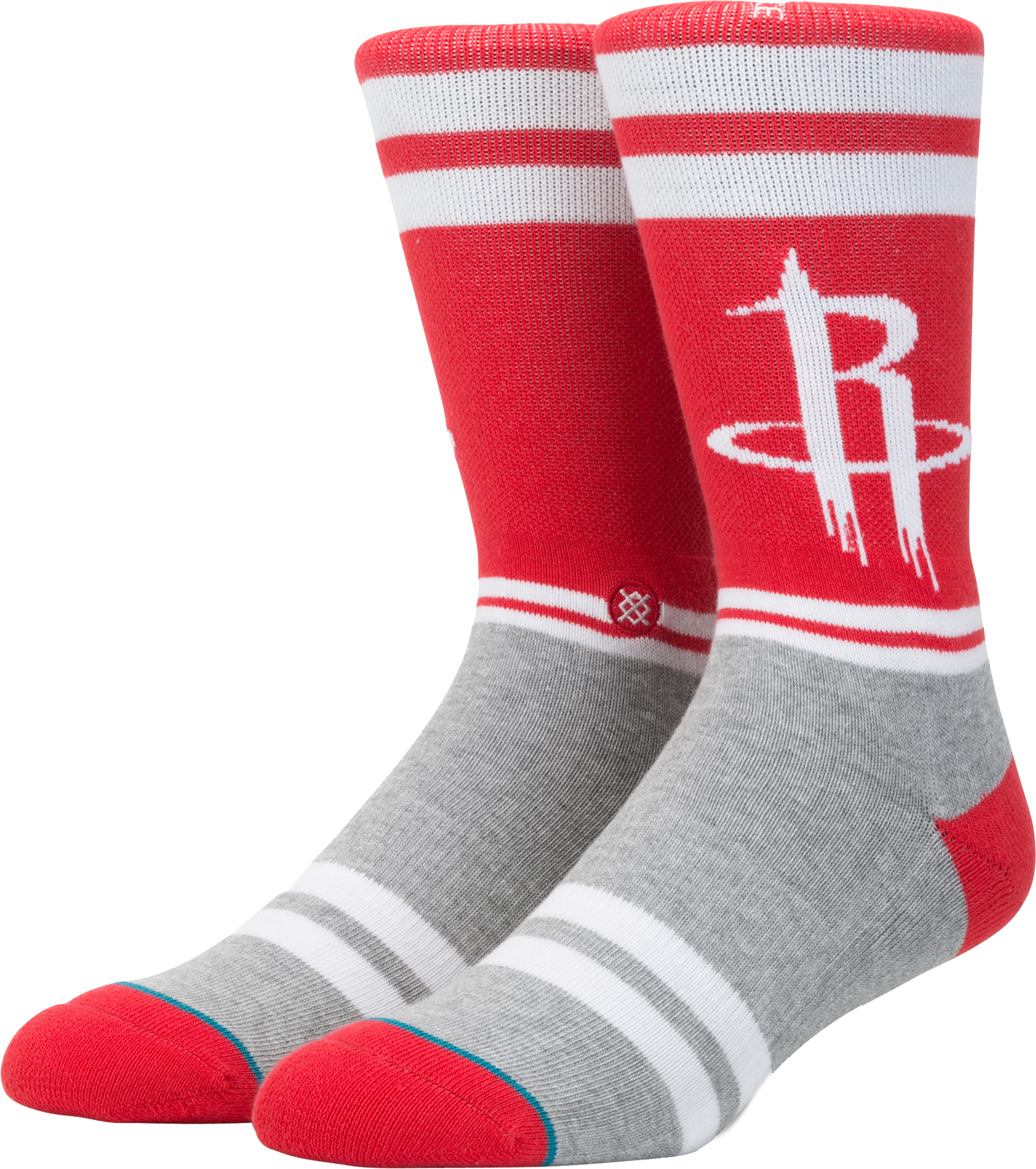 Stance Men's Houston Rockets City Gym Crew Socks