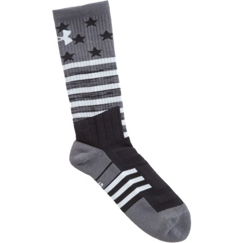 Under Armour Men's Unrivaled Stars and Stripes Crew Socks - view number 3