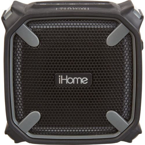 iHome Portable Waterproof Shockproof Bluetooth Speaker with Accent Light