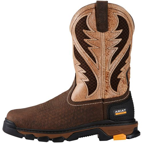 Ariat Men's Intrepid VentTEK Square Toe Western Work Boots - view number 1