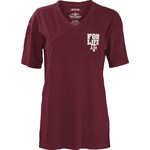 Three Squared Juniors' Texas A&M University Team For Life Short Sleeve V-neck T-shirt - view number 2