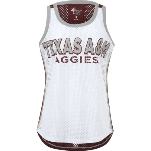 G-III for Her Women's Texas A&M University Opening Day Mesh Tank Top