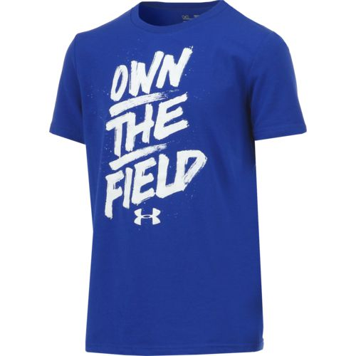 Under Armour Boys' Own the Field Short Sleeve T-shirt - view number 3