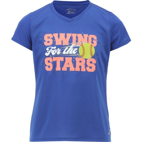 BCG Girls' Swing for the Stars Short Sleeve T-shirt - view number 1