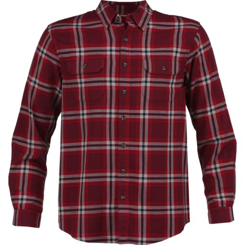 Magellan Outdoors Men's Adventure Gear Hunter Creek Performance Plaid Flannel Shirt