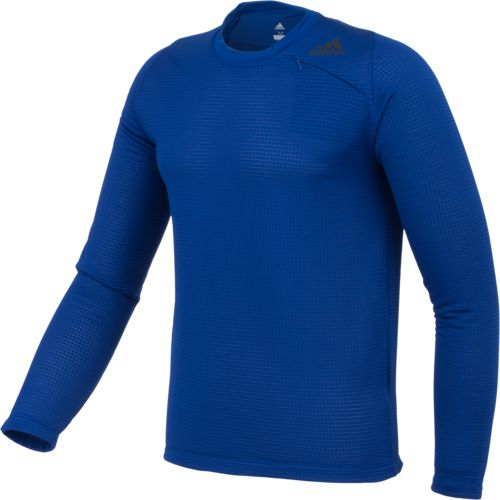 adidas Men's Athlete ID Long Sleeve Cover-Up Pullover - view number 3