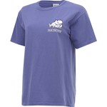 New World Graphics Women's Texas Christian University Comfort Color Puff Arch T-shirt - view number 3
