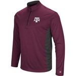 Colosseum Athletics Men's Texas A&M University Audible 1/4 Zip Windshirt - view number 1