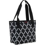 Logo Carolina Panthers Quatrefoil 16-Can Cooler Tote - view number 3