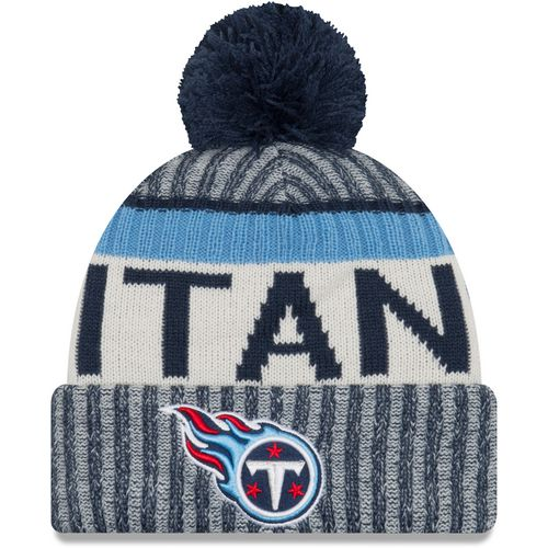 New Era Men's Tennessee Titans Onfield Sport Knit Cap