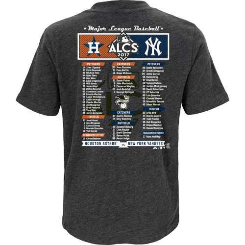 Majestic Kids ALDS League Match Up Roster T-Shirt