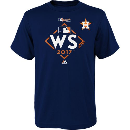 Majestic Kids Astros World Series Participant T-Shirt