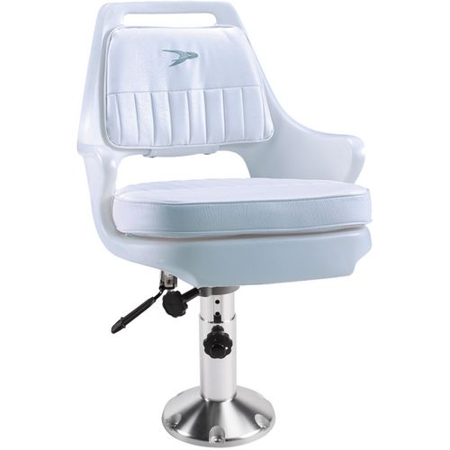 Wise Pilot Helm Chair with 12 - 18 in Adjustable Pedestal and Seat Slide