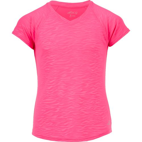 BCG Girls' Embossed Turbo Training T-shirt