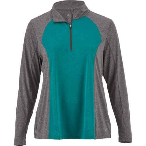 Display product reviews for BCG Women's Turbo Plus Size 1/4 Zip Pullover