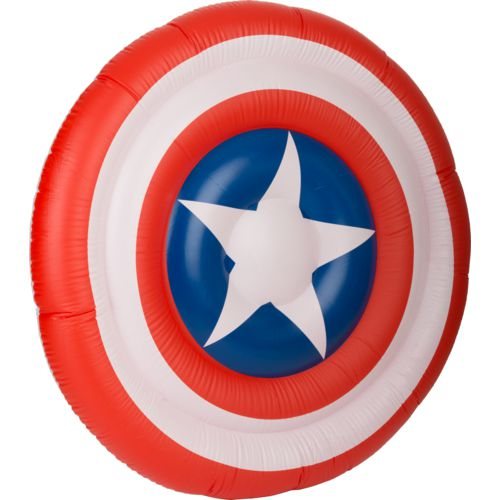 SwimWays Marvel Oversize Inflatable Shield Pool Float