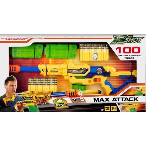 ZURU X-Shot Max Attack Clip Blaster Set - view number 1