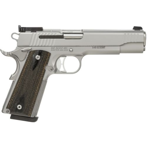 SIG SAUER 1911 Traditional Stainless Match Elite 9mm Luger Pistol - view number 1