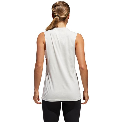 adidas Women's Bos Muscle Hack Training Tank Top - view number 3