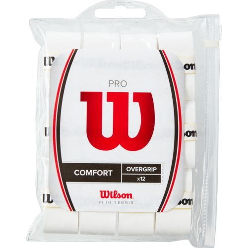 Wilson Pro Tennis Racket Overgrips 12-Pack - Buy it while supplies last