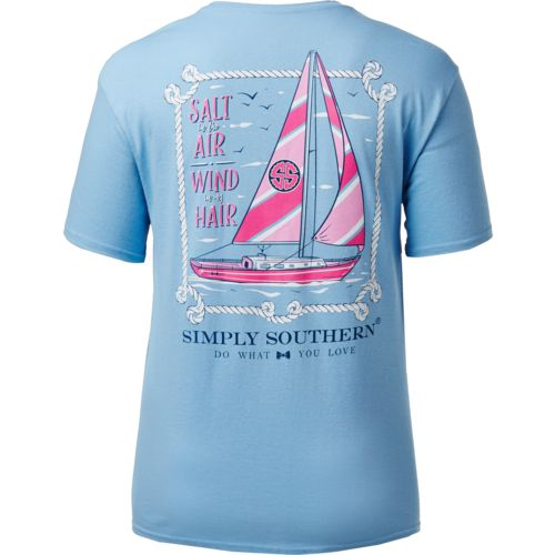 Simply Southern Women's Sail T-shirt - view number 2