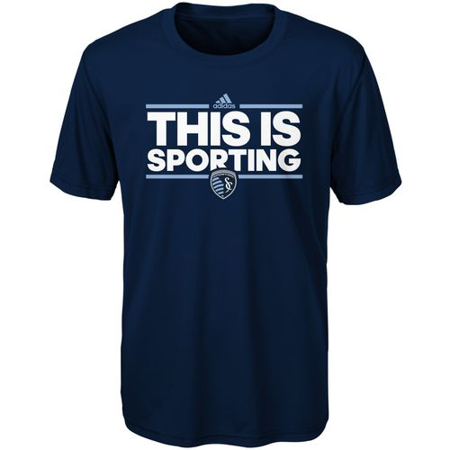 adidas Boys' Sporting Kansas City Dassler Local T-shirt