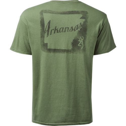 Browning Men's Classic Arkansas Outer Stamp T-shirt