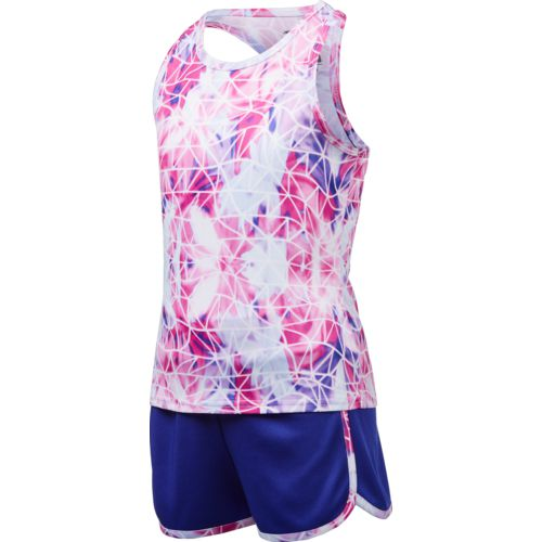 Cheetah Toddler Girls' Voltage Floral Tank Top and Shorts Set