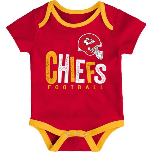 NFL Infants' Kansas City Chiefs Little Tailgater Creeper Set