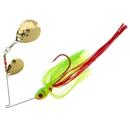 Display product reviews for BOOYAH Tux and Tails 1/2 oz Double Colorado Blade Spinnerbait