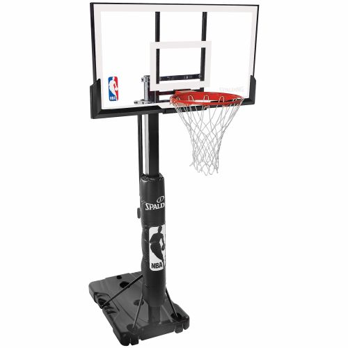 "Display product reviews for Spalding 54"" Acrylic Portable Basketball System"