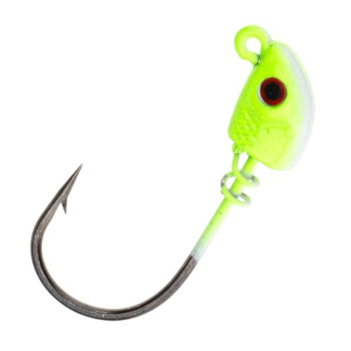 Bass Assassin Lures 1/8 oz Jigheads 3-Pack