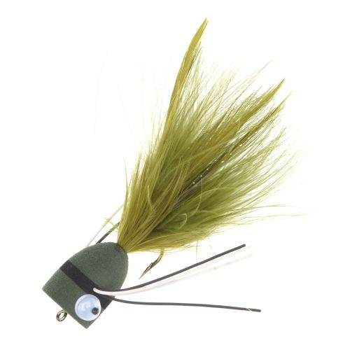 Superfly Foam Popper 1/2 in Flies 2-Pack - view number 1