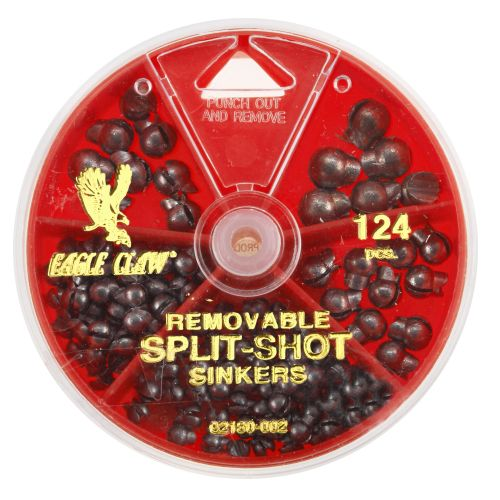 Eagle Claw Removable Split-Shot Sinkers