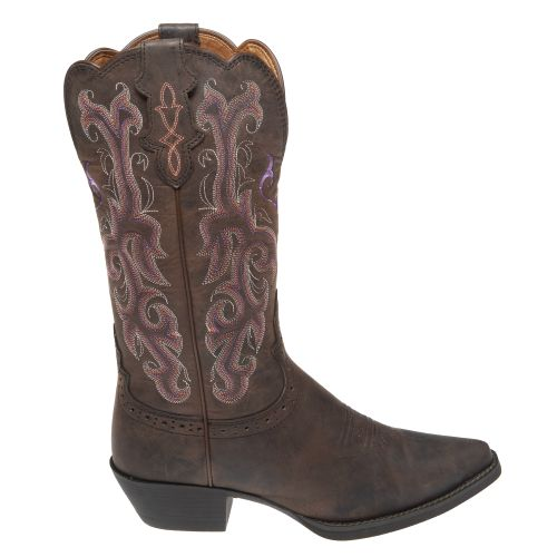 Justin Girls' Stampede™ Cowboy Boots - view number 1